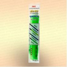 Силиконовая противоскользящая накладка на ручку удилища, спиннинга, подводного ружья цвет - зеленый