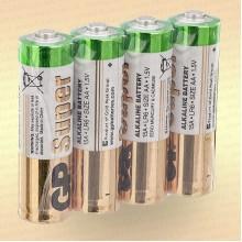 Батарейка щелочная AА LR6 1,5 V упак- 4 шт.