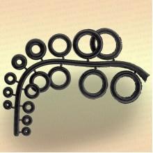 Набор силиконовых колец для удилищ, спиннингов