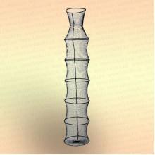 Садок рыболовный, Тип 9 - 7 колец, диаметр 35 мм, длина 175 см