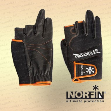 Перчатки Norfin PRO ANGLER 5 CUT GLOVES 03 р.L