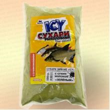 """Сухари зимние """"ICY"""" рыболовные """"Зеленый"""" 500гр"""
