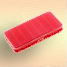 Коробка для воблеров BZ-786, двухсторонняя,малая