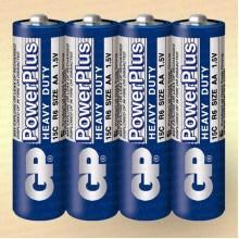Батарейка солевая AА R6 1,5 V упак- 4 шт.