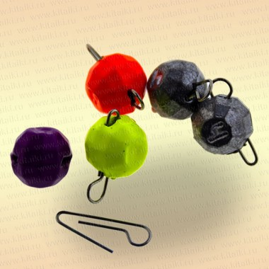 Груз Fanatik разборный граненый, цвет MIX, 7 гр (5шт)