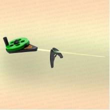 Удочка зимняя 3КИТА Балалайка УС-3 (хлыст поликарбонат) зеленая