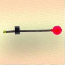 "Сторожок ""Мормыш - Шар с пружинкой"" жесткость №1, шарик 15 мм, вес приманки: 3,5-10 гр"