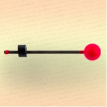 "Сторожок ""Мормыш - Шар с пружинкой"" жесткость №3, шарик 20 мм, вес приманки: 15,0-28,0 гр"