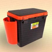 Зимний рыболовный ящик Helios Fishbox 19 л. односекционный
