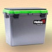 Зимний рыболовный ящик Helios Ice Fishbox 19 л односекционный серый