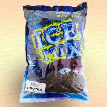 """Прикормка """"ICE MIX"""" готовая с мотылем 1 кг Плотва"""
