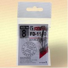 Крючки FANATIK FD-1140 Двойник №8 (5 шт)