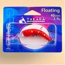 Воблер форелевый Takara Grinch 40 мм, 3 гр, цвет 723