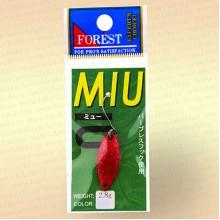 Форелевая блесна Forest MIU, 2,8 гр цвет 002