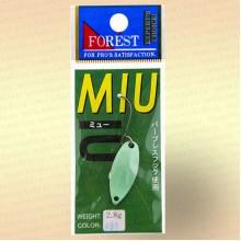 Форелевая блесна Forest MIU, 2,8 гр цвет 005