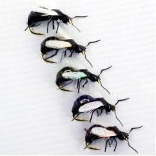 Мушка сухая Крылатый муравей №14 (уп.5 шт)