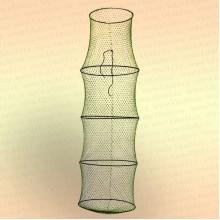 Садок 5 колец, диаметр 400 мм, длина 1300 мм, вход 300 мм