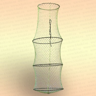 Садок 4 кольца, диаметр 400 мм, длина 1120 мм, вход 300 мм