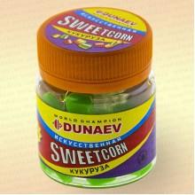 Искусственная насадка Dunaev Sweetcorn Кукуруза 10 мм Зеленая