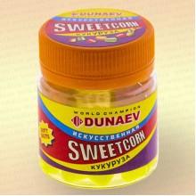 Искусственная насадка Dunaev Sweetcorn Кукуруза 12 мм Желтая