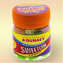 Искусственная насадка Dunaev Sweetcorn Кукуруза 12 мм Зеленая