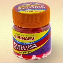 Искусственная насадка Dunaev Sweetcorn Кукуруза 12 мм Красная