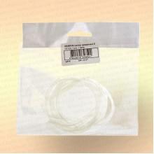 Кембрик 3х4 мм, прозрачный, 1 метр