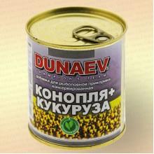 """Добавка для прикормки металлобанка 320мл """"Дунаев Конопля Кукуруза"""""""