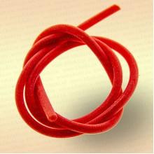 Трубка резиновая, ниппельная длина 40 см, диаметр 3 мм цвет красный