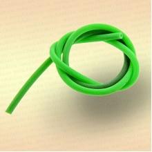 Трубка резиновая, ниппельная длина 40 см, диаметр 3 мм цвет зеленый