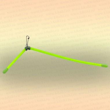 Антизакручиватель несимметричный, зеленый, пластик
