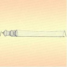 Мережа с арочным заходом, два последовательных входа щелью, D=500 мм, яч 22 мм