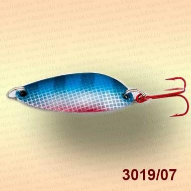 Блесна цветная Клео, 10 гр, цвет 3019/07