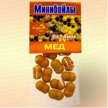 Мини бойлы, 8 х 14 мм аромат: мед