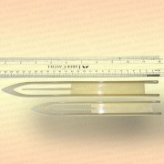 Челнок для сетей, белый B1 250 мм x 27 мм