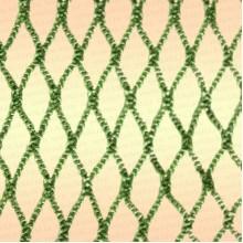 яч 3 мм, 210den/5, h=600яч (уп. 20 кг) зелёная (пропитанная)
