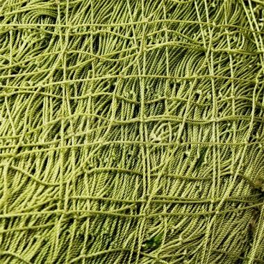 Дель 93,5 текс*3 (0,8 мм), яч 24 мм зеленая, высота 250 ячей, вес 15 кг