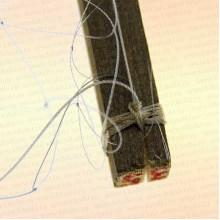 Экран трехстенный лесковый ячея 26 мм