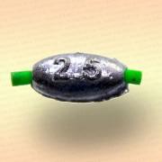 Грузило-оливка 2,5 гр