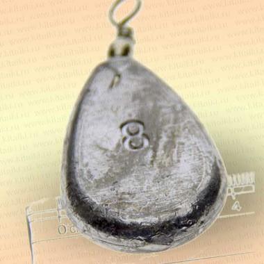 Грузило свинцовое, номер 8,  224 гр.