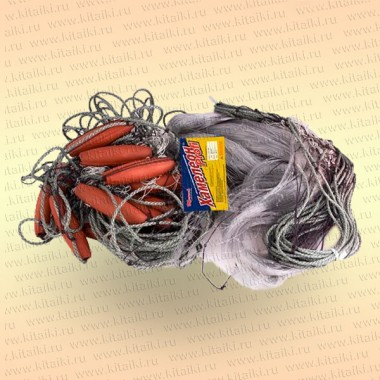Сеть Хамелеон-Профи ячея 65 мм, леска 0,52 мм, высота 5,0 м, длина 50 м