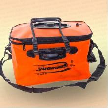 Кан для живца Yuanda оранжевый 40 см