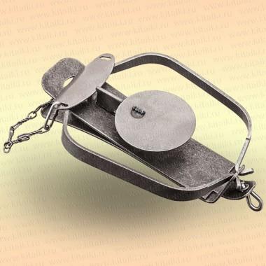 Капкан охотничий металлический тарелочный, Бобр–5