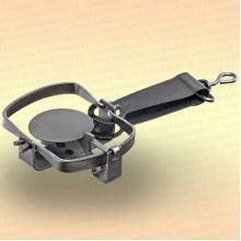 Капкан охотничий металлический тарелочный, Уралец - 0