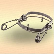 Капкан охотничий металлический симочный, Сибирь-М-7