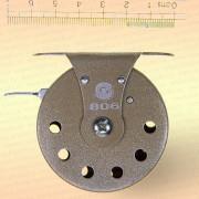 Катушка 806 для зимней удочки серая, диаметр 55 мм