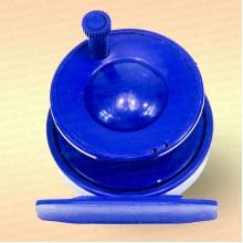Катушка для зимней удочки синяя