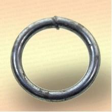 Кольцо грузовое для сетей, оцинкованное  6 * 35 мм, 28 гр