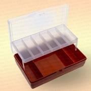 Коробка для рыболовных принадлежностей, оранжевая, большая