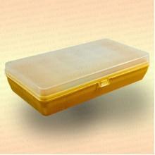 Коробка для рыболовных принадлежностей, желтая, большая